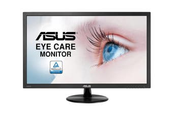 "ASUS 23.6"" FHD Blue Light Filter Eye Care Monitor (VP247HAE)"