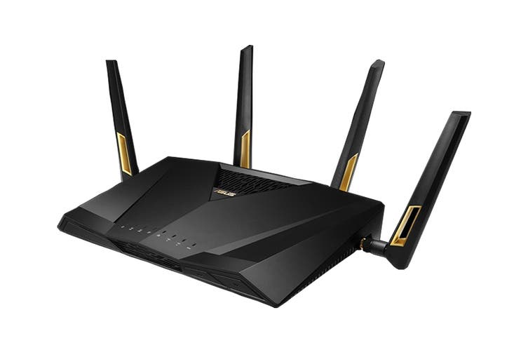ASUS AX6000 Dual Band 802.11ax WiFi Router Supporting MU-MIMO & OFDMA Technology (RT-AX88U)