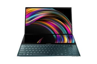 """ASUS 15.6"""" ZenBook Pro Duo Core i9-9980HK 32GB RAM 1TB SSD RTX2060 W10 Pro 4K Dual Touchscreen Laptop (UX581GV-H2001R)"""