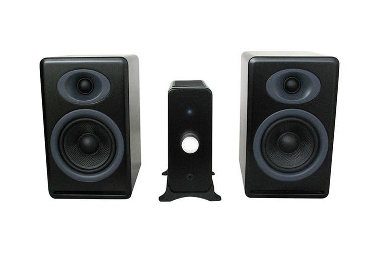 Audioengine N22 Amplifier & P4 Speaker Pair (Satin Black) Bundle