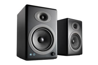 Audioengine 5+ Wireless Powered Speakers Pair - Satin Black (90023805)
