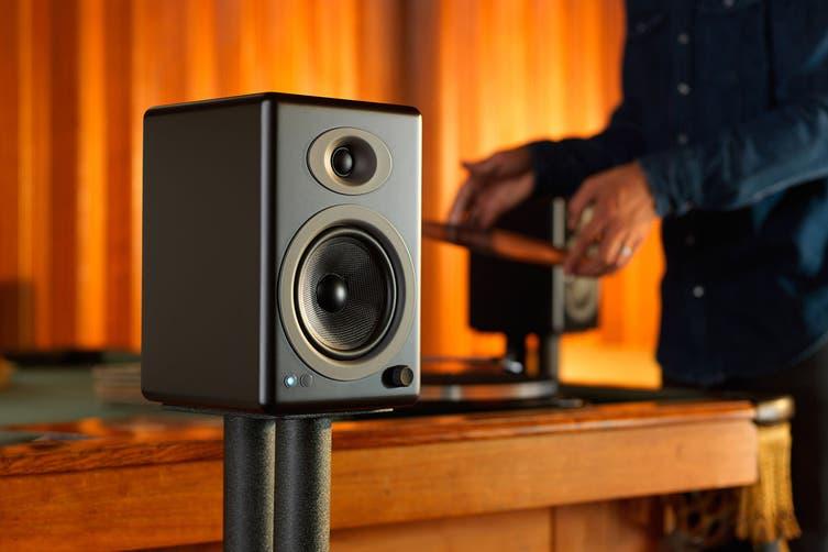 Audioengine 5+ Wireless Powered Speakers Pair - Satin Black (90023805)