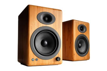 Audioengine 5+ Wireless Powered Speakers Pair - Solid Bamboo (90023815)