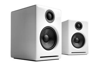 Audioengine 2+ Wireless Desktop Speakers Pair - Hi-Gloss White (90027130)