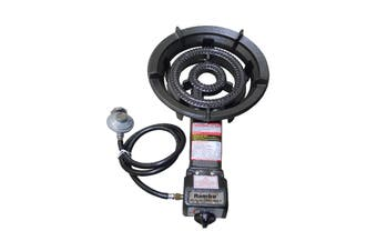 Auscrown Auto Ignition Large Dual Ring Burner - LP Gas