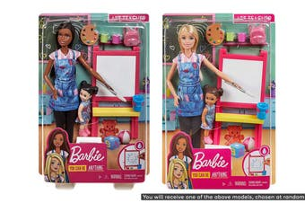 Barbie Art Teacher Playset with Easel and Accessories (Assorted)