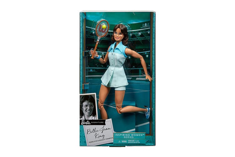 Barbie Billie Jean King Inspiring Women Collectable Doll