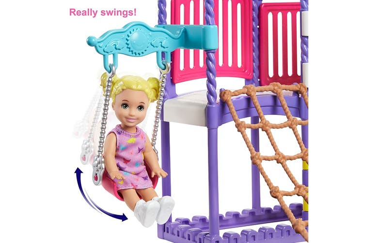 Barbie Skipper Babysitters Inc. Climb 'N Explore Playground Playset