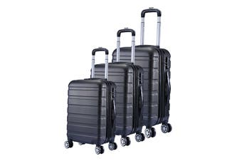 Milano Luggage XPander Series 3 Piece Set (Black)