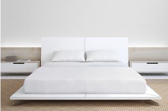 Royal Comfort 1000TC Bamboo Blend Bed Sheet Set (White)