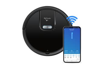MyGenie GMAX Wi-Fi Robotic Vacuum Cleaner – Black