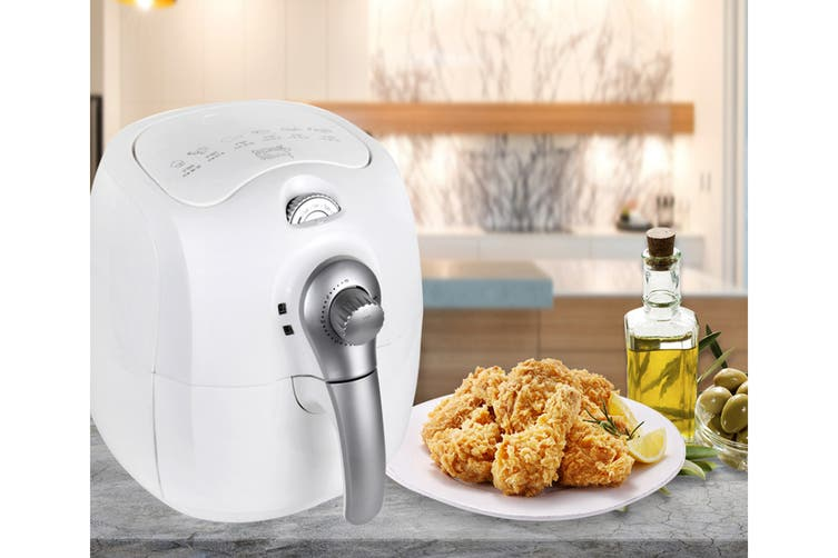 Kitchen Couture 3.5L Low Fat 1400W Air Fryer (White)