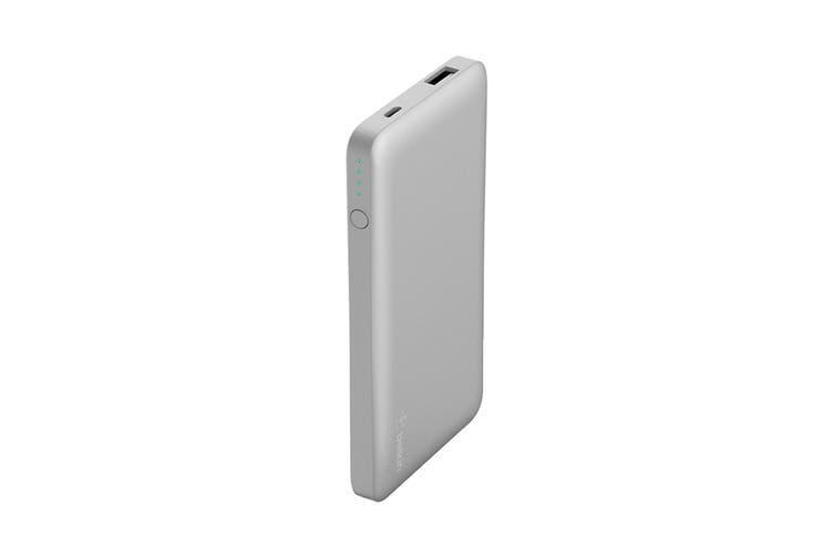Belkin Pocket Power 5000 mAh Power Bank - Silver (F7U019BTSLV)