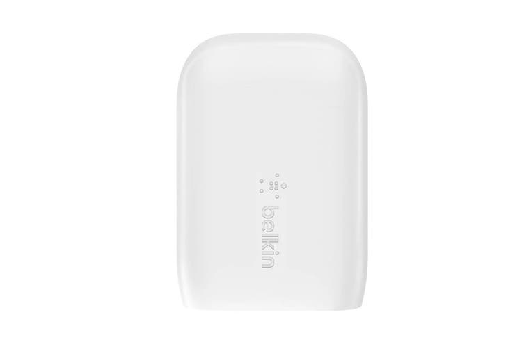 Belkin Boost Up 18W USB-C and 12W USB-A Dual Port Wall Charger (F7U097AUWHT)