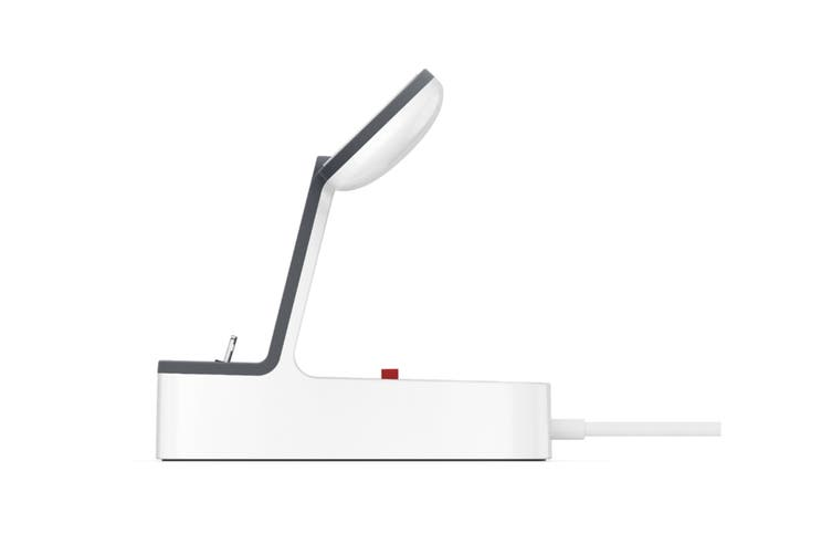 Belkin PowerHouse Charge Dock for Apple Watch & iPhone - White (F8J237AUWHT)