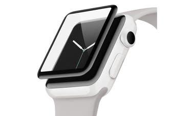 Belkin Screenforce UltraCurve Water Resistant Screen Protection for Apple Watch Series 3/2, 38mm (F8W917TT)