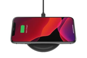 Belkin BOOST CHARGE 10W Wireless Charging Pad - Black (WIA001BTBK)