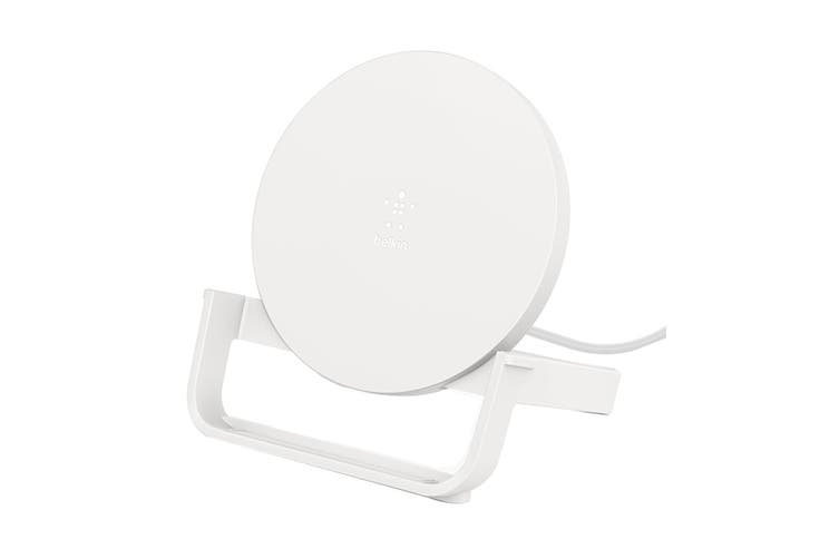 Belkin BOOST CHARGE 10W Wireless Charging Stand - White (WIB001BTWH)