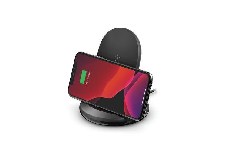 Belkin BOOST CHARGE 15W Wireless Charging Stand - Black (WIB002AUBK)