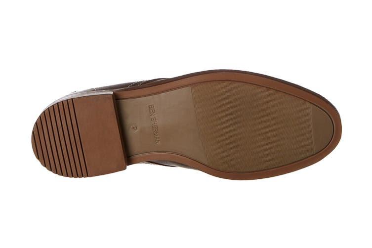 Ben Sherman Men's Gabe Leather Chukka Boot (Dark Brown, Size 11.5 US)