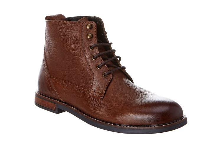 Ben Sherman Men's Brent Boot (Dark Brown, Size 8 US)