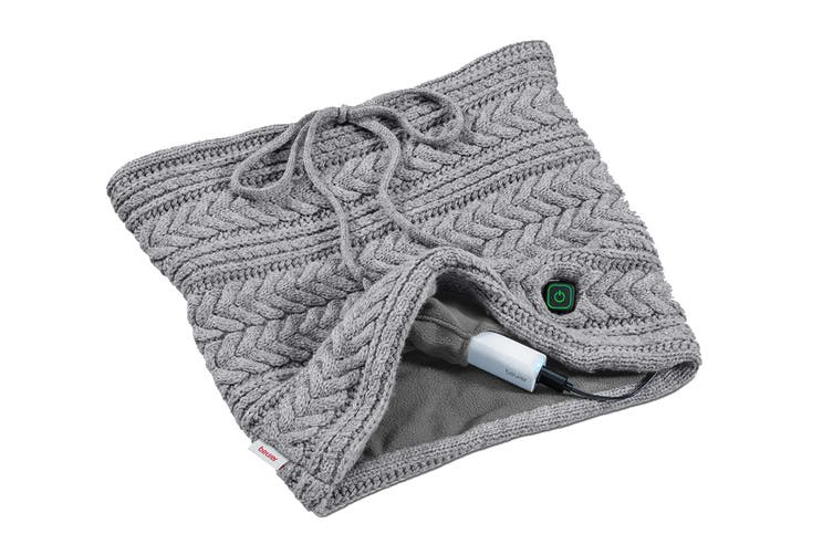 Beurer Mobile Portable Heated Loop Scarf with Power Bank (HK37)