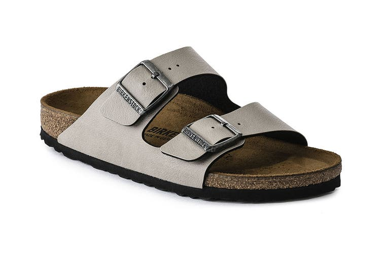 Birkenstock Arizona Birko Flor Regular Fit Sandal (Pull Up Stone, Size 37 EU)