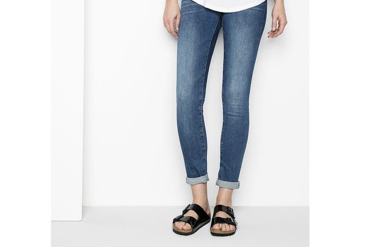 Birkenstock Arizona Birko-Flor Patent Regular Fit Sandal (Black, Size 43 EU)