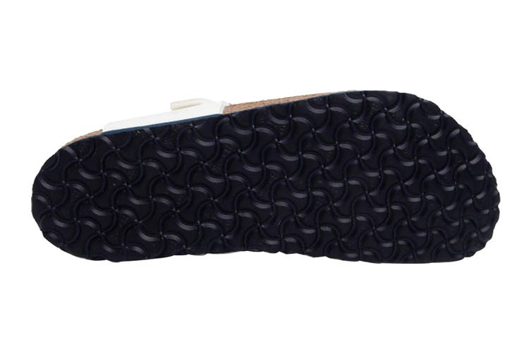 Birkenstock Kids Gizeh Birko-Flor Narrow Fit Sandal (Nautical Stripes White, Size 30 EU)