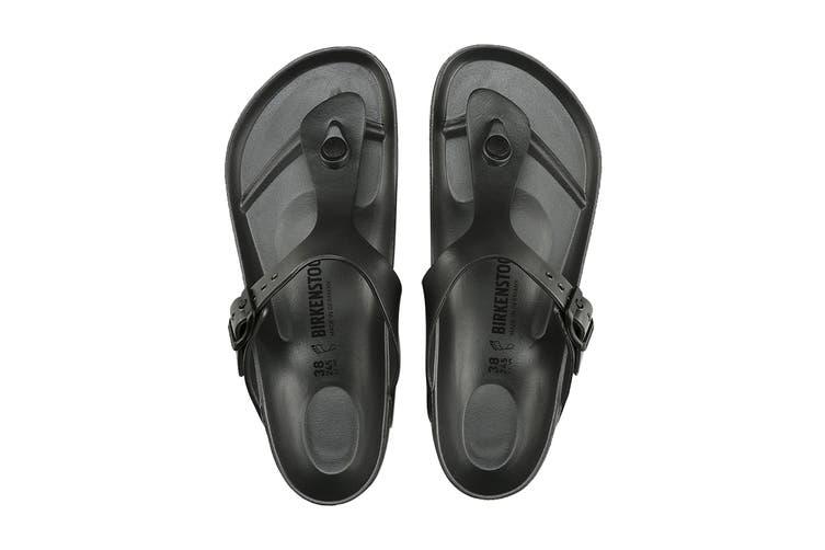 Birkenstock Unisex Gizeh EVA Sandal (Black, Size 36 EU)