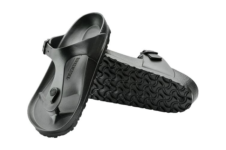 Birkenstock Unisex Gizeh EVA Sandal (Black, Size 41 EU)