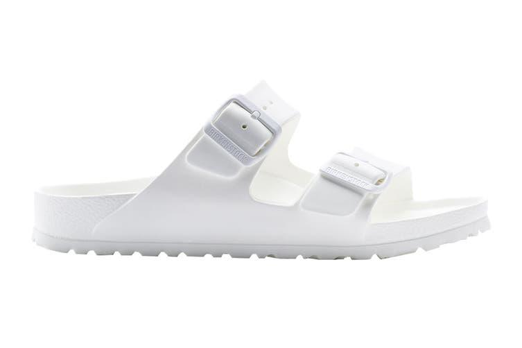 Birkenstock Women's Arizona EVA Narrow Fit Sandal (White, Size 41 EU)