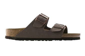 Birkenstock Arizona BF-Nubuck Narrow Fit Sandal (Mocha)