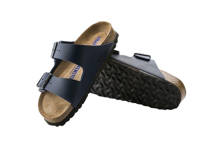 Birkenstock Arizona BF SFB Blue Regular Fit Sandal (Size 37 EU)