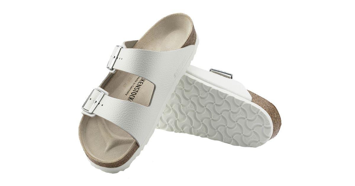 Åtskillnad hacka klistra  Birkenstock Unisex Arizona Natural Leather Regular Fit Sandal ...