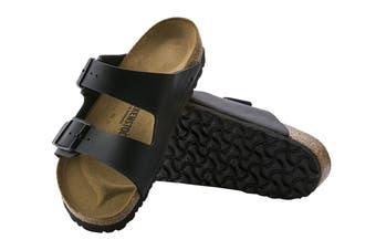 Birkenstock Unisex Arizona Birko-Flor Regular Fit Sandal (Black, Size 44 EU)