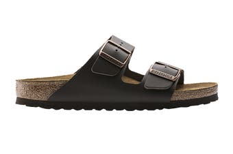 Birkenstock Unisex Arizona Oiled Leather Narrow-Fit Sandal (Habana)