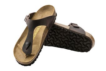 Birkenstock Unisex Gizeh Oiled Leather Thong (Habana)