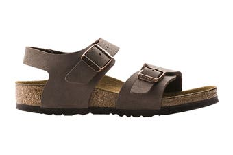 Birkenstock Kids New York Birko-Flor Narrow-Fit Sandal (Mocha)