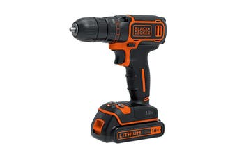 Black & Decker 18V Lithium Drill Driver Kit
