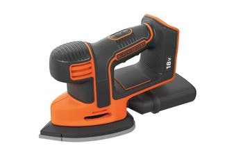 Black & Decker 18V Cordless Mouse Sander (BDCDS18N-XE, Skin Only)