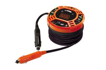 Black & Decker 12V Easy Car-To-Car Booster Cables