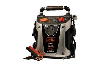 Black & Decker Total Power Station: 450 Amp Jump Starter, 200 Watt Inverter, 120 Psi Inflator