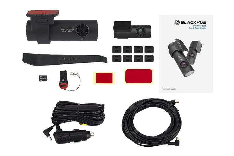 BlackVue DR750S-2CH Dual-Full HD Cloud Dashcam (32GB)