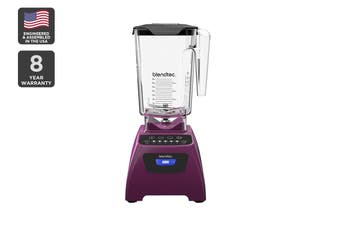 Blendtec 1560W Classic 575 Wildside+ Blender with 5+ Pulse Speed - Orchid (C575B3518A-AUNZ)