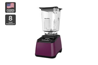 Blendtec 1560W Designer 625 Wildside+ Blender with Touch Screen - Orchid (D625B3518A1A-AUNZ)
