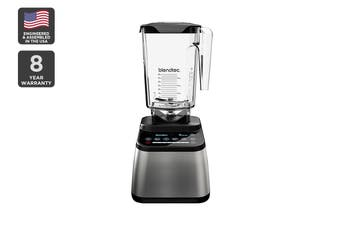 Blendtec 1800W Designer 725 Wildside+ Blender with Touch Screen - Stainless/Black (D725D3516A1A-AUNZ)