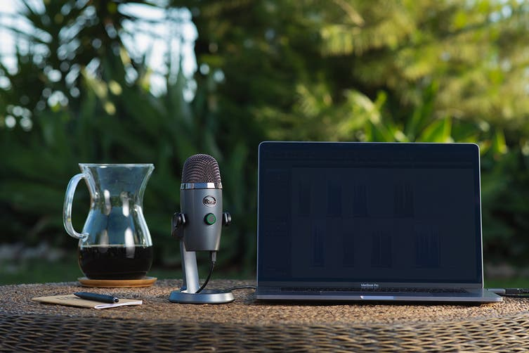Blue Yeti Nano Premium USB Microphone - Shadow Grey