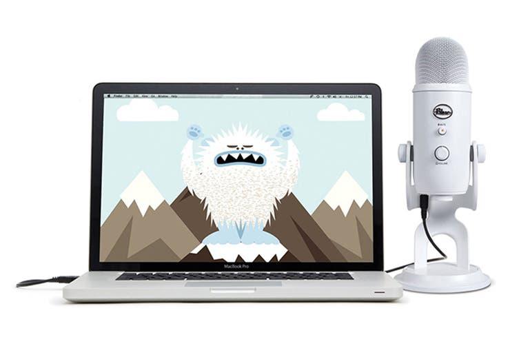 Blue Yeti 3-Capsule USB Microphone - White (90021670)