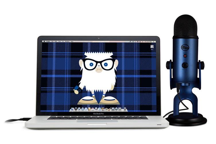 Blue Yeti 3-Capsule USB Microphone - Midnight Blue (90021680)
